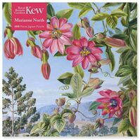 Flame Tree Studio - Adult Jigsaw Puzzle Kew: Marianne North: View in the Brisbane BotanicGarden: 500-piece Jigsaw Puzzle