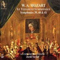 Jordi Savall - Mozart: Symphonies No.39, 40 & 41