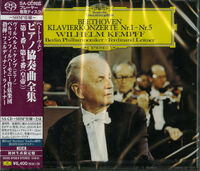 Beethoven / Wilhelm Kempff - Beethoven: Piano Concertos (SACD - SHM-CD)