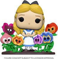 Funko Pop! Deluxe: - FUNKO POP! DELUXE: Alice in Wonderland 70th - Alice w/Flowers