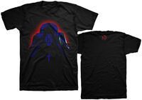 Weeknd Starboy Album Cover Black Ss Tee S - The Weeknd Starboy Album Cover Artwork Black Unisex Short Sleeve T-shirt Small