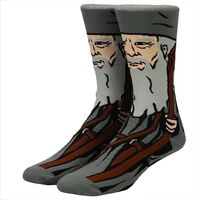 Lord of the Rings Gandalf Character Crew Socks - Lord Of The Rings Gandalf 360 Character Crew Socks Men's Shoe Size 8-12