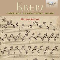Krebs / Benuzzi - Complete Harpsichord Music (Box)