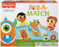 Games - Mattel Games - Fisher Price Monster Match