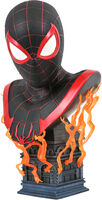 Diamond Select - Diamond Select - Marvel Legends In 3D PS5 Miles Morales 1/2 Scale Bust