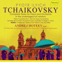 Tchaikovsky / Hoteev / Fedoseyev - Piano & Orchestra (3pk)