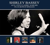 Dame Shirley Bassey - Five Classic Albums Plus Bonus Singles [Digipak] (Hol)