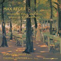 Reger / Prelle / Gunther - Sonatas For Violin & Piano