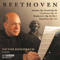 Victor Rosenbaum - Sonatas 26 & 90