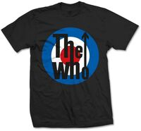 The Who - The Who Classic Target Black Unisex Short Sleeve T-shirt Med