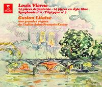 Gaston Litaize - Louis Vierne: 24 Pieces De Fantaisie