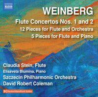 Weinberg / Szczecin Philharmonic Orch / Coleman - Flute Concertos 1 & 2