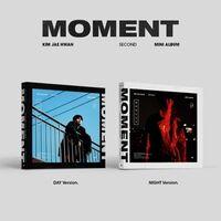 Jae Kim Hwan - Moment (incl. 72pg Photobook, Photocard, 24pg Flipbook, Clear Bookmark+ Stamp 3 Frame)