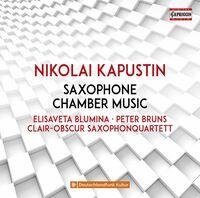 Elisaveta Blumina - Saxophone Chamber Music