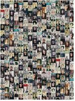 Galison - Andy Warhol Selfies 1000 Piece Puzzle in a Square Box