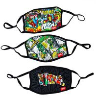 Marvel Adult Size Adjustable Face Covers 3 Pack - Marvel Adult Size Adjustable Face Covers 3 Pack