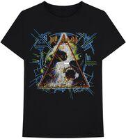 Def Leppard - Def Leppard Hysteria Black Unisex Short Sleeve T-shirt 2XL
