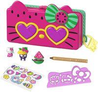Sanrio - Mattel - Hello Kitty and Friends Minis Watermelon Beach Party Pencil Case Playset (Sanrio)
