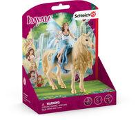 Schleich - Schleich Eyela Riding on Golden Unicorn