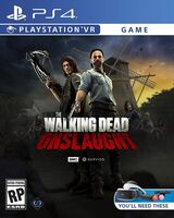 Ps4 the Walking Dead Onslaught - The Walking Dead Onslaught for PlayStation 4