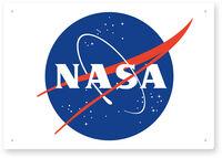 Nasa Vintage Logo 8 X 11 Tin Sign - NASA Vintage Logo 8 X 11 Tin Sign