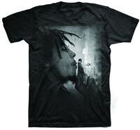 Bob Marley Mellow Mood Spliff Black Ss Tee S - Bob Marley Mellow Mood Spliff Black Unisex Short Sleeve T-shirt Small
