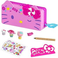 Sanrio - Mattel - Hello Kitty and Friends Minis Candy Carnival Pencil Case Playset (Sanrio)