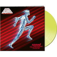 Gama Bomb - Speed Between The Lines [Clear Vinyl] (Gate) (Ylw)