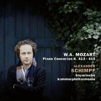 Mozart / Schimpf / Adorjan - Piano Concertos 413-415