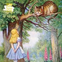 Flame Tree Studio - Adult Jigsaw Puzzle Alice and the Cheshire Cat: 1000-piece JigsawPuzzle