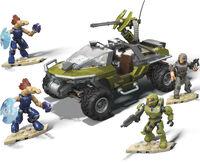 Mega Construx Halo - MEGA Brands - MEGA Construx HALO Vehicle: Warthog Rally