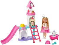 Barbie - Mattel - Barbie Princess Adventure Chelsea Pet Castle Playset