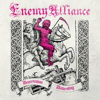 Enemy Alliance - Damnation Dawning (Rosa Vinyl)