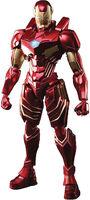Square Enix - Square Enix - Marvel Universe Variant Bring Arts Iron Man Action Figure