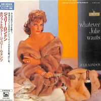 Julie London - Whatever Julie Wants (Jmlp) [Limited Edition] [Reissue] (Jpn)