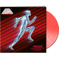 Gama Bomb - Speed Between The Lines [Clear Vinyl] (Gate) (Red)