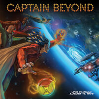 Captain Beyond - Live In Miami - August 19 1972 (Blue) (Ltd)