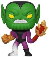 Funko Pop! Marvel: - FUNKO POP! MARVEL: Fantastic Four - Super-Skrull