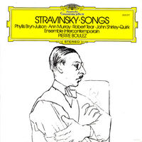 Stravinsky / Pierre Boulez - Stravinsky: Songs [Reissue] (Shm) (Jpn)