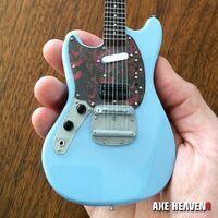 Kurt Cobain - Kurt Cobain Nirvana Fender Mustang Mini Guitar