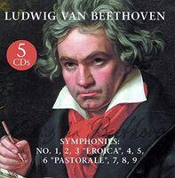 Beethoven - Symphonies: No.2 1 ,3 Eroica, 4,5,6 Pastorale,7,8,9