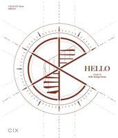 Cix - Hello Chapter O/Hello, Strange Dream (incl. 84pg Photobook, Member Photocard, Photocard Frame, Folded Poster, Illustration Card,