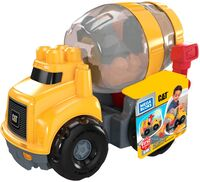 Mega Bloks - MEGA Brands - Caterpillar: CAT Cement Mixer