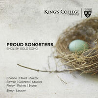 Proud Songsters: English Solo Song - Proud Songsters: English Solo Song