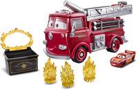 Pixar - Mattel - Cars Color Change Red Playset (Disney/PIXAR)
