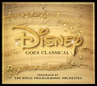 The Royal Philharmonic Orchestra - Disney Goes Classical [LP]
