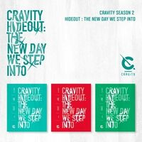 Cravity - Cravity Season 2. Hideout : The New Day We Step Into (Random Cover)(incl.4-Cut Photocard, Polaroid Photocard + Sticker)