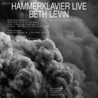 Beth Levin - Hammerklavier Live