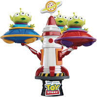 Beast Kingdom - Beast Kingdom - Toy Story DS-052Dx Alien Spin UFO D-Stage 6 Statue