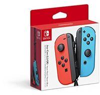 Swi Joy-Con (L/R): Neon Red/Neon Blue - Nintendo Joy-Con (L)/(R) - Neon Red/Neon Blue for Nintendo Switch